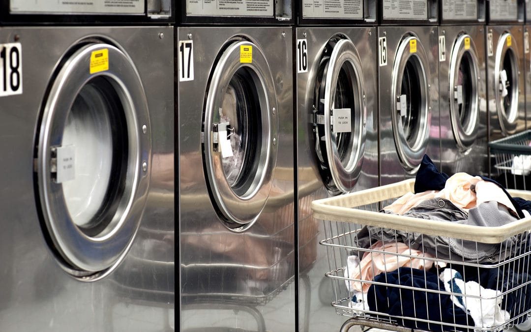 Industrial laundries emit tons of wastewater every day